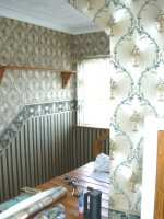 Stairwell wallpaper in Chickerell